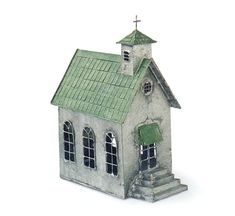 Christmas Village Houses, Putz Houses, Wood Houses, Paper Houses, Miniature Fairy Gardens, Miniature Houses, Dolls House Figures, Fairy Garden Houses, Fairy Gardening