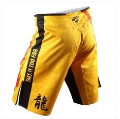 Dragon fight Shorts MMA shorts Muay Thai trunks mma fight short kick boxing shorts