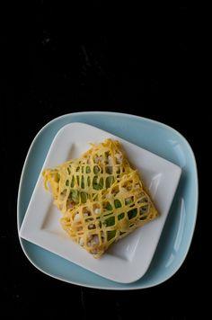 Fishnet parcels makes an excellent finger food Entree Recipes, Fish Recipes, Asian Recipes, Snack Recipes, Asian Foods, Dinner Recipes, Snacks, A Food, Good Food