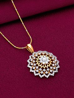 18k Gold Jewelry, Gold Jewellery Design, Diamond Jewelry, Ruby And Diamond Necklace, Diamond Pendant, Pendant Set, Buy Diamonds Online, Just For You, Dimonds