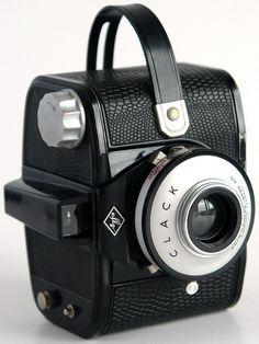 Простая среднеформатная шкальная бокс-камера «Agfa Clack» | Agfa (1954 — 1965 г.г.) | www.FotoLyap.ru