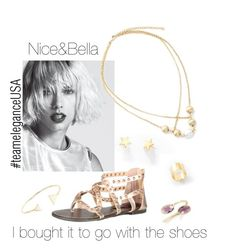 """""""Nice&Bella Jewelry from $8+"""" by redrawlins ❤ liked on Polyvore featuring Dollhouse, niceandbella and teamEleganceUSA"""