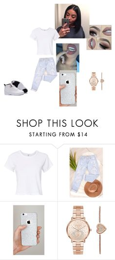 """""""Gemini Baby"""" by ziyah-mesy on Polyvore featuring RE/DONE, Pretty Lavish and Michael Kors"""