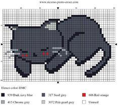 schema punto croce gattino 003