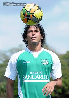 """Me gusta salir jugando"": Nery Bareiro, defensa paraguayo del Deportivo Cali…"