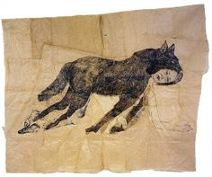 Kiki Smith's work amazes me.