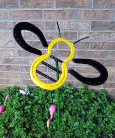 welded metal art for the garden