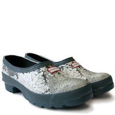 Hunter RHS Garden Clog Shoes Pinterest Gardens Clogs