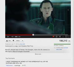 Take it off, Loki
