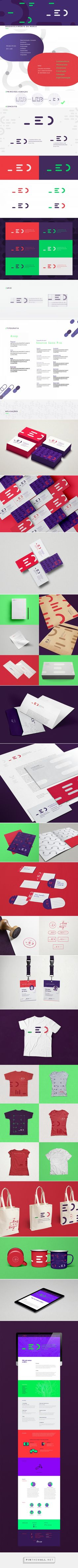 LED | Identidade Visual on Behance - created via https://pinthemall.net
