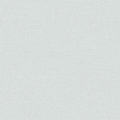 도톰한 직물 질감 위에 네츄럴한 가로결의 직물 무늬가 조합된 연한 블루 그레이 컬러 벽지