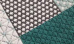 Handmade rectangular fabric rug Silaï Collection by GAN By Gandia Blasco Diy Carpet, Rugs On Carpet, Tapetes Diy, Art Shed, Tapis Design, Fabric Rug, Bargello, Wool Rug, Bunt