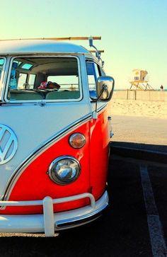 VW surfer van