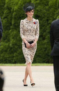 vestido de renda kate middleton