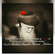 "@sufilive on Instagram: ""Love! #Allah is Love. #ProphetMuhammad is Love. #Islam is only Love."" Shaykh Hisham Kabbani ❤"