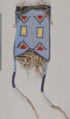 bag, Assiniboine.  NMNH  ac