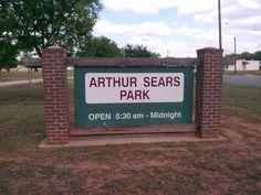 Arthur Sears Park, Abilene Texas
