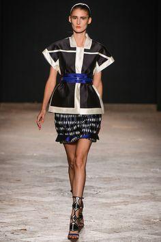 Aquilano.Rimondi Spring 2013 Ready-to-Wear Fashion Show - Marie Piovesan