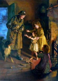 Rescued ~ Arthur John Elsley (1860 – 1952, English)