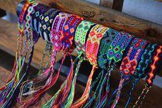 Friendship bracelets Mexican bracelets bachelorette party