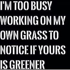 Damn right. Mind your own biz.