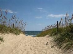 Nags Head Beach, North Carolina...leaving in a few hours for OBX!