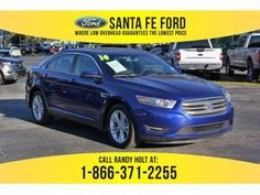 2014 Blue Ford Taurus SEL 37705P