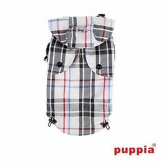 Junior Dog Raincoat by Puppia - Beige S576-PAPA-RM1320-BE-L
