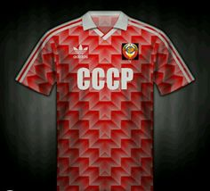 Russia home shirt for the 1988 European Championships.