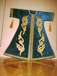 Ottoman prince wear (shahzadah) use wood & felt ..make so easy ♥