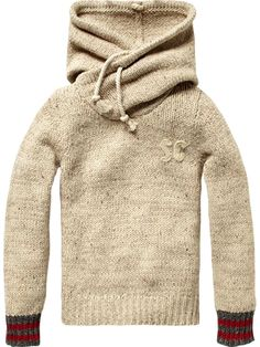 Scotch & Soda: SPECIAL HOOD SWEAT W CHEST APP