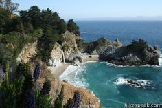 McWay Falls, Julia Pfeiffer Burns State Park, Big Sur, CA. It's even more beautiful in person!