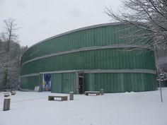Schnee im Neandertal. Foto: Facebook-Fanseite des Neanderthal Museums