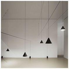 String Cone Hanglamp Set - MisterDesign