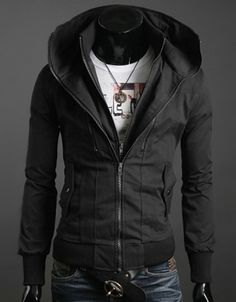 Double Liner Slim #Jacket.   Follow us! - http://starshipseraphm.blogspot.com/p/home.html