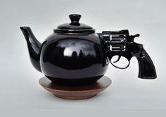 Bang. It's tea time.