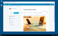 """Bloggers take note. Automattic just released a WordPress.com desktop app for Windows. In a company blog post, they promise the app is """"simple, seamless, and blazingly fast."""" Back in November, Automattic released a revamp of their web interface along with…"""
