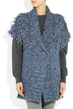 See by Chloé Looped chunky-knit cardigan NET-A-PORTER.COM