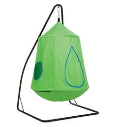 Indoor Swing for Kids Bedroom or Playroom. Nylon Canvas HugglePod™HangOut with LED Lights Sensory Integration.Tap the link to check out great fidgets and sensory toys. Check back often for sales and new items. Happy Hands make Happy Peopl Sensory Rooms, Autism Sensory, Sensory Activities, Sensory Swing, Sensory Play, Hanging Tent, Hanging Chairs, Kids Swing, Indoor Swing For Kids