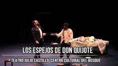 "Chema Pizarro te invita ""Los Espejos de Don Quijote"" Teatro Julio Castillo"