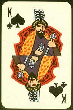 Manas 1000 karty igralnye suvenirnye – King of spades King Of Spades, Trading Cards, Bowser, Tarot, Deck, Miniatures, Play, History, Decks