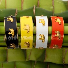 $100 Elephants! 1-inch bangle with Elephant charms from Kep Designs
