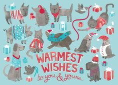 Hello!Lucky Holiday Cards - Jacqui Lee Illustration