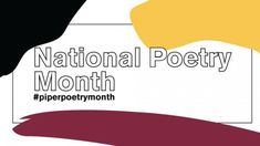 Celebrate #NationalPoetryMonth with prompts on social media, drop-in sessions, or enter the Contest to be featured in the 2021 anthology. To submit work: 1. Select a promptyou'd like to respond to by visiting our social media feeds. 2. Write a poemin response to the prompt selected. 3. Tag us on Facebook (@PiperCenter) or Instagram (@pipercenter) using the hashtag #PiperPoetryMonth. 4. Submitup to 3 poemsin a single .pdf by completing our submission form. Writing A Love Letter, Love Letters, Poetry Contests, Healing Books, Poetry Inspiration, National Poetry Month, Arizona State University, Political Science, Haiku