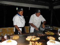 Japanese cooking Fiji style..