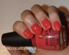 "China Glaze's ""About Layin' Out"""
