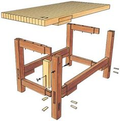 Arts & Crafts Workbench | Article | Woodworking