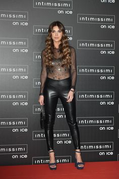 Negin Mirsalehi attends Intimissimi On Ice