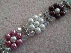nice DIY Bijoux - Pearl Flower Bracelet