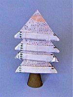 Geldscheine falten Baum